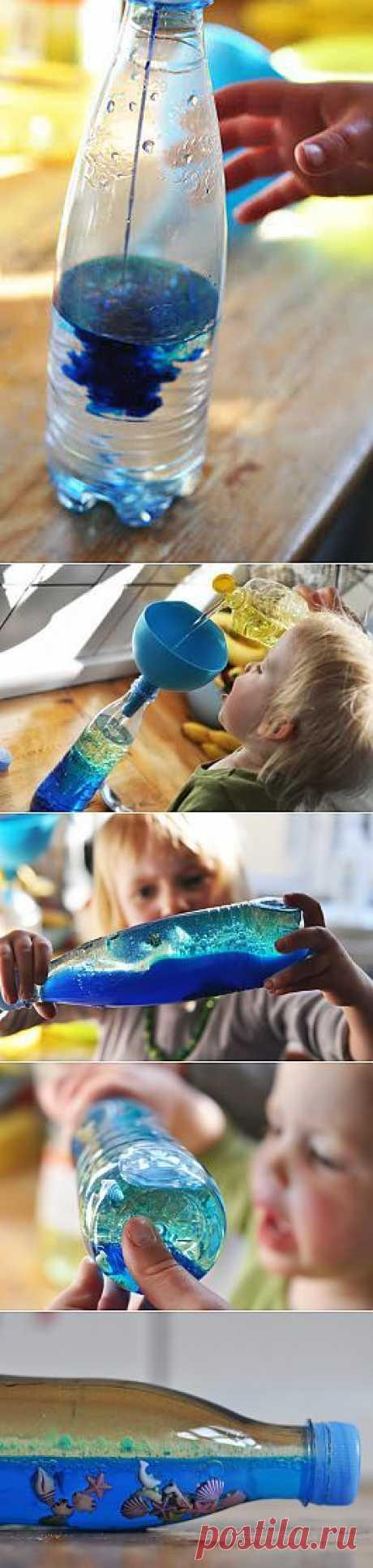 Море волнуется ...в пластиковй бутылке ) | переделки | Форум | Вышиваем крестом