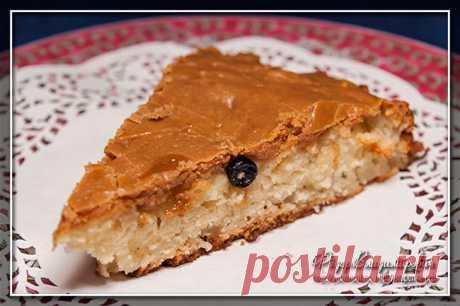 Яблочный пирог со сливочной карамелью | Домашние рецепты