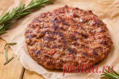 Рецепт сербской плескавицы | ReRecept