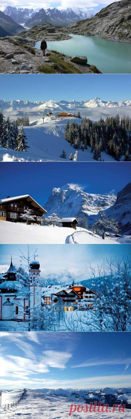 Лучшее в Альпах / Туристический спутник