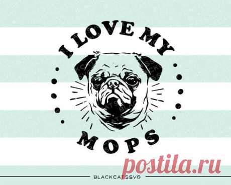I love my mops-  SVG file Cutting File Clipart in Svg, Eps, Dxf, Png for Cricut & Silhouette I love my pug I love my mops - SVG file I love my pug This is not a vinyl, the file contains only digital files, and no material items will be shipped. This is a digital download of a word art vinyl decal cutting file, which can be imported to a number of paper crafting programs like Cricut Explore, Silhouette and some other cutting