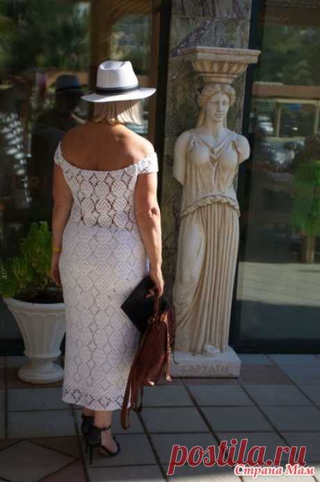 """Летнее платье """" Сеньора"""" от Клио"""