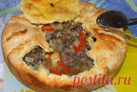 Пирог с гречкой, мясом и овощами — ХОЗЯЮШКА