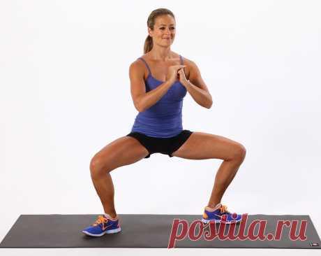 Упражнения для эффективного сжигания жира и подтяжки бедер