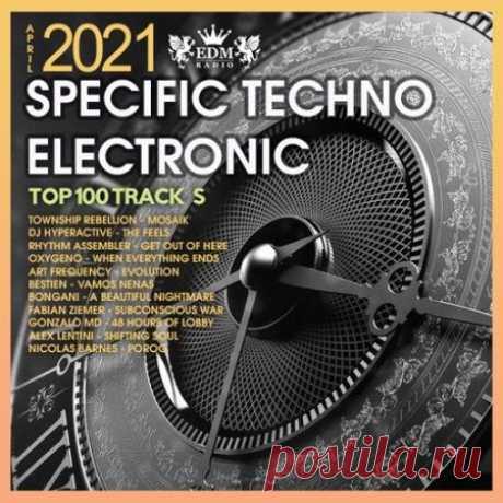 """Specific Techno Electronic (2021) Вашему вниманию релиз самых интересных треков в стиле техно электроники """"Specific Techno Electronic"""". Хиты, которые будоражат сознание любителей электронной музыки уже ждут Вас!Категория: MixedИсполнитель: Various ArtistНазвание: Specific Techno ElectronicСтрана: EUЛейбл: EDM RadioЖанр"""
