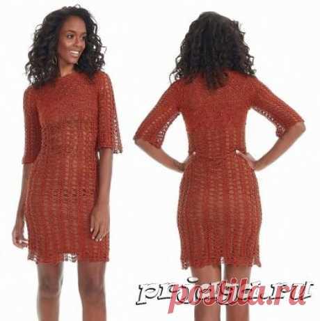 Платье «Гавана» крючком
