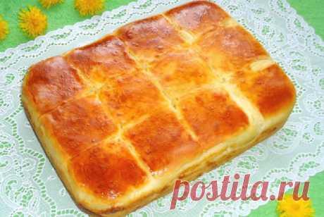 Пирог с сыром, который хочется готовить каждый день!   Женский блог