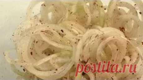 Самый вкусный маринованный лук к шашлыку - Люблю готовить