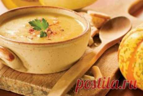 Карибский суп из тыквы