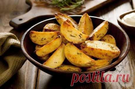 Картофель по-деревенски — Sloosh – кулинарные рецепты
