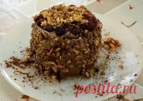 (1) Быстрый полезный тортик без сахара и муки - пошаговый рецепт с фото. Автор рецепта Михаль 🌳 . - Cookpad