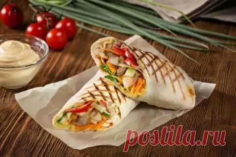 Что съесть вместо наскучивших бутербродов: 5 рецептов домашней шаурмы - С нами не соскучишься! - медиаплатформа МирТесен