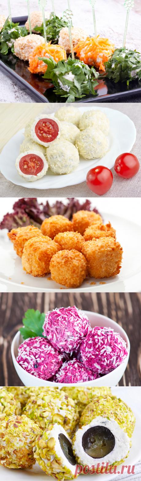 Несколько рецептов сырных шариков