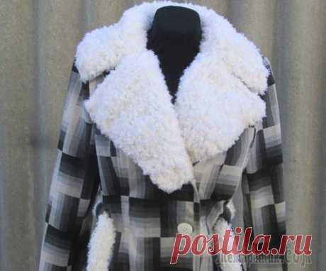 Превращение старого осеннего пальто в новое