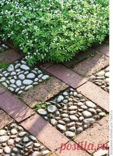 Мозаика из камней для уникального дизайна сада: идеи, процесс создания