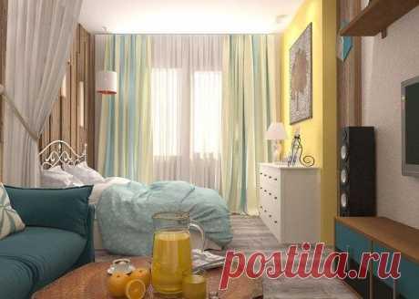 Проект однокомнатной квартиры в Новосибирске