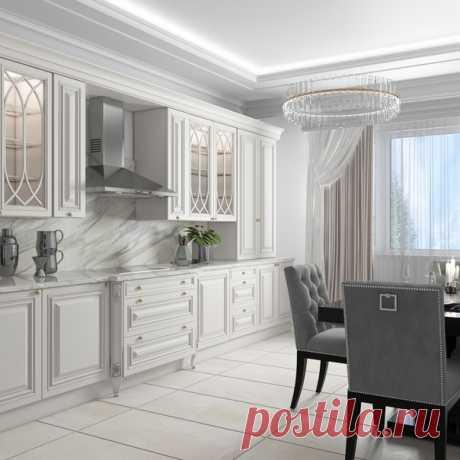 Кухня в стиле арт-деко Дизайнер — Таисия Сницар