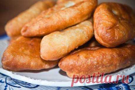 Жареные пирожки с картофелем и грибами - Рецепт современной домашней кухни с фото