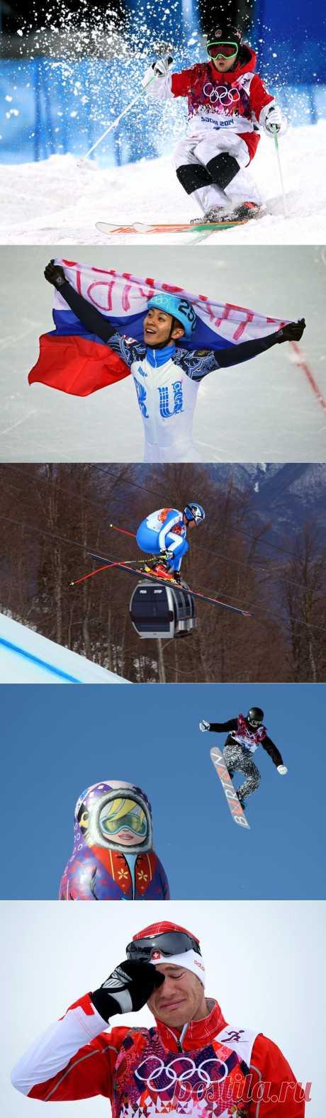 Мгновения Олимпиады Сочи-2014 | В мире интересного