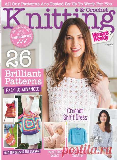 Knitting & Crochet August 2018