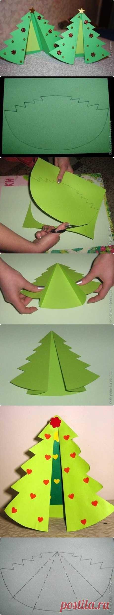 DIY Tree Style Card DIY Tree Style Card