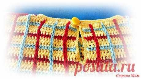 Хлопковый пуловер для малыша - Вязание для детей - Страна Мам