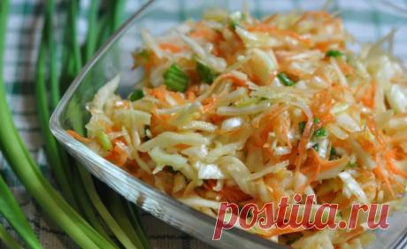 Простой закусочный салат из капусты с маринадом. | Кухарочка | Яндекс Дзен