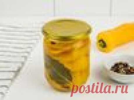 Маринованный болгарский перец – пошаговый рецепт приготовления с фото