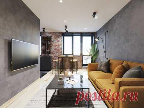 Квартира площадью 40,6 кв.м от Алеси Скоромник