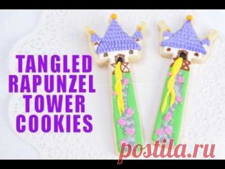 TANGLED RAPUNZEL TOWER COOKIES, HANIELA'S