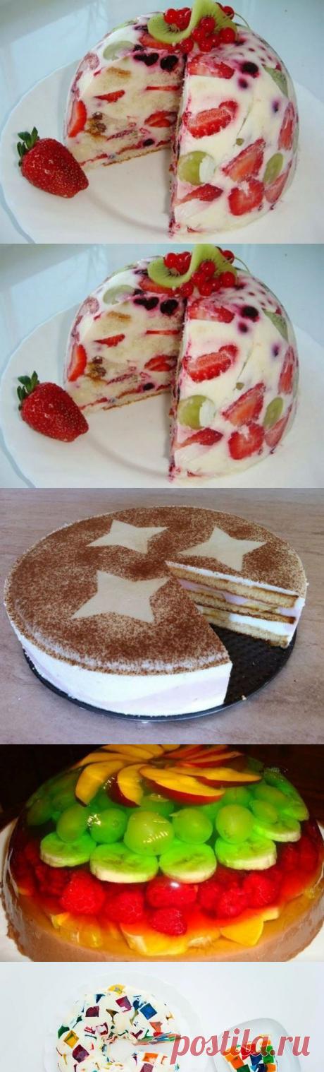 Топ-кращих тортів без випічки | Новини Дивись.info