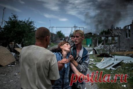 Несуществующие люди Как дети и старики выживают под обстрелами в полуразрушенных поселках Донбасса