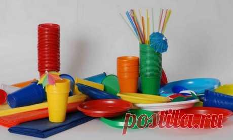 Маркировка на пластиковой посуде и таре. Полезная информация.
