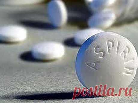 Раствор аспирина от шпор, варикоза,остеохондроза.