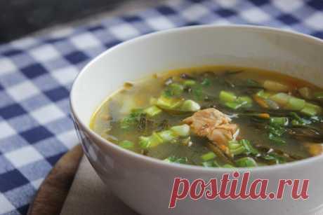 Бюджетный суп из морской капусты с ароматом дальних океанов! Рецепт студенческих времен | Ем, пишу, считаю | Яндекс Дзен