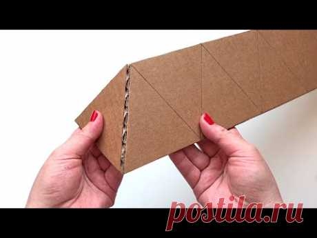 DIY 5 cardboard ideas   Craft ideas with Paper and Cardboard   Paper craft - YouTube