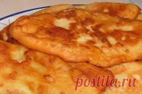Тонкие пирожки с картошкой «Крестьянские»