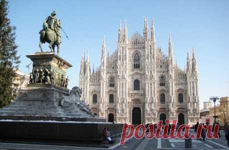 Миланский собор чудо поздней готики — Путешествия