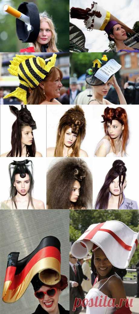 Расцвет моды на креативные шляпки | Посидим-поговорим