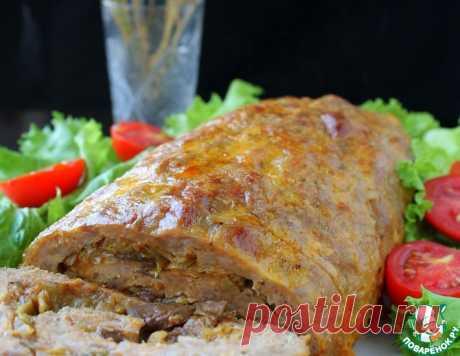 Рулет из мясного фарша с капустой – кулинарный рецепт