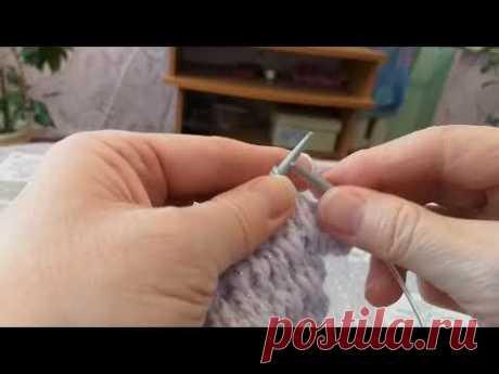 легкий узор для кардиганов, свитеров - YouTube
