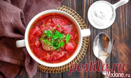 Вегетарианский борщ: секреты хорошего вкуса - первые блюда, борщ, здоровое питание, вегетарианские блюда