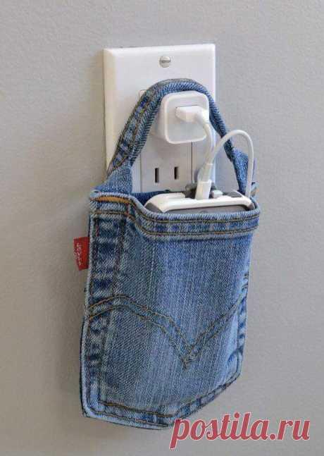 Из старых джинсов, идеи. Facebook