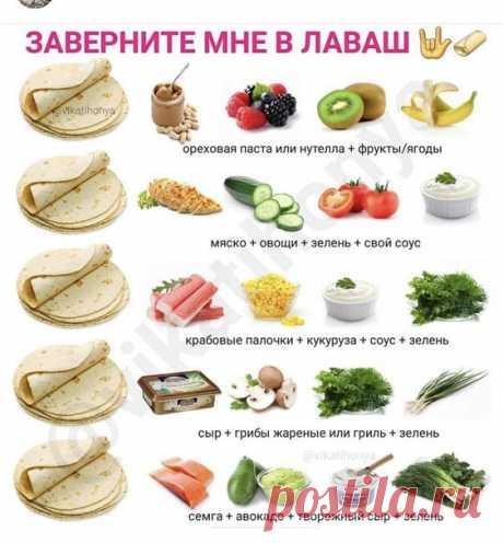 Los panecillos de lavasha