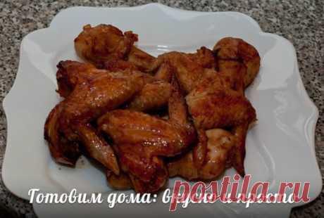 Куриные крылышки в медово-томатном маринаде | Про рецептики - лучшие кулинарные рецепты для Вас!