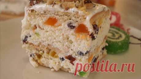 Творожный торт без выпечки: быстро, просто и вкусно - Лучшие рецепты для Вас!