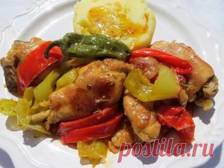 Курица по-итальянски. Обед для всей семьи