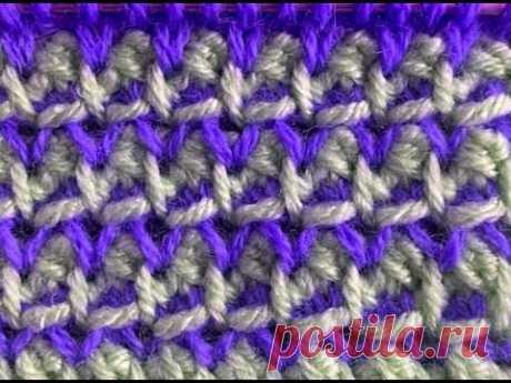 Узор ''Сенешаль'' | Вязание спицами для начинающих
