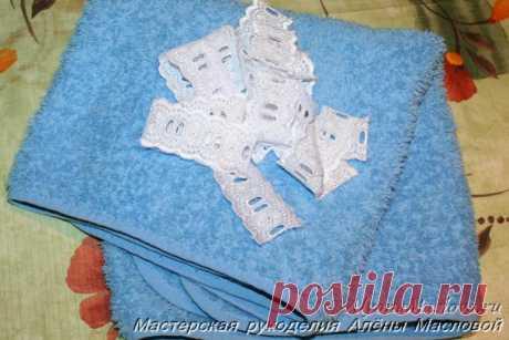 Полотенце в подарок своими руками | Мастерская рукоделия Алёны Масловой