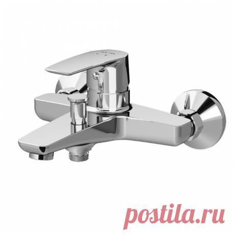 Купить Смеситель для ванны с подключением душа AM.PM Gem F90A10000 однорычажный по низкой цене с доставкой из маркетплейса Беру